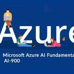 Microsoft Azure AI Fundamental AI 900